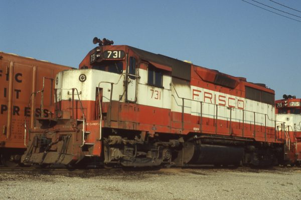 GP35 731 at Memphis, Tennessee on September 1, 1980 (P.B. Wendt)