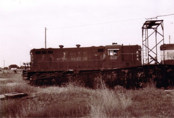 GP7 512 at Oklahoma City, Oklahoma (date unknown)