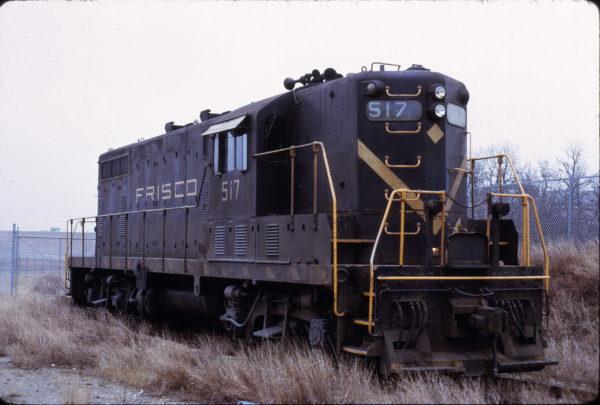 GP7 517 at Irving, Texas on February 2, 1972 (Louis Krizak)