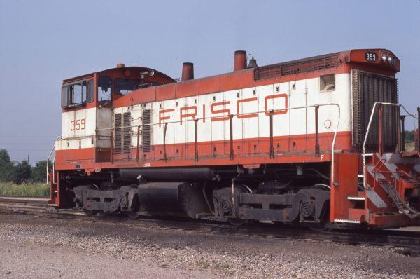 SW1500 359 at Tulsa, Oklahoma in July 1980