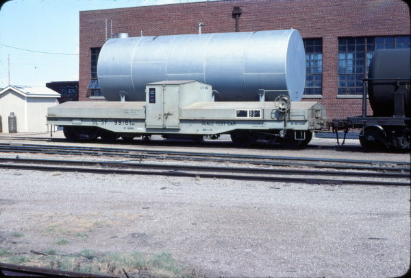 Scale Test Car 99161 at Wichita, Kansas on September 3, 1978