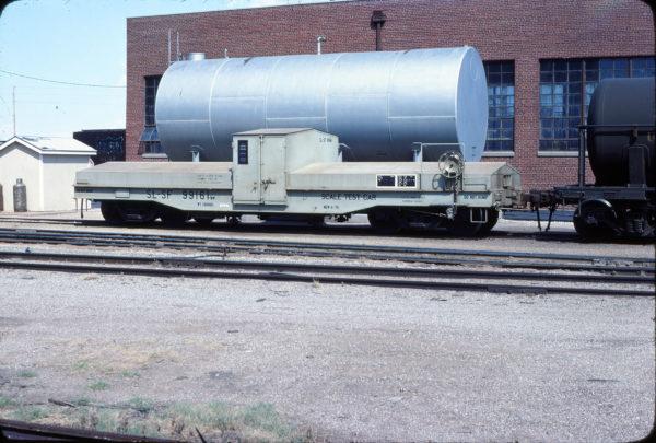 Scale Test Car 99161 at Wichita, Kansas on September 3, 1978