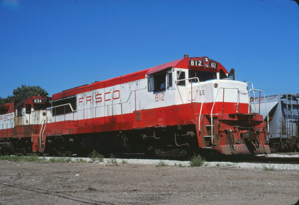 U25B 812 at Kansas City on June 24, 1980