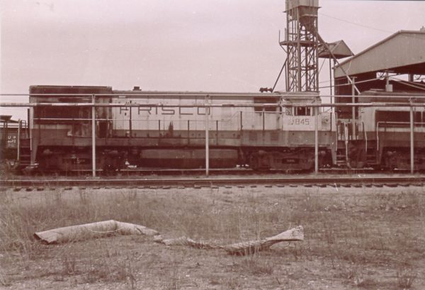 U30B 845 at Springfield, Missouri (date unknown)