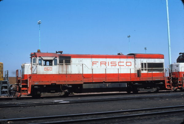 U30B 860 at North Platte, Nebraska on August 7, 1976 (P.F. Arnold)