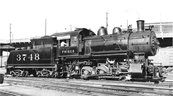 0-6-0 3748 at Kansas City, Missouri (date unknown) (Joe Collias)