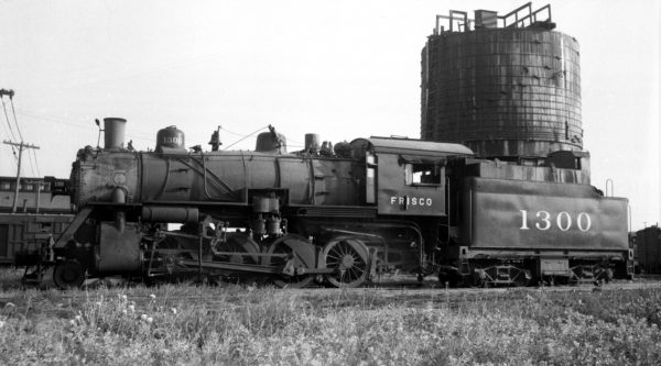 2-8-0 1300 at Enid, Oklahoma (date unknown) (Ralph Graves)