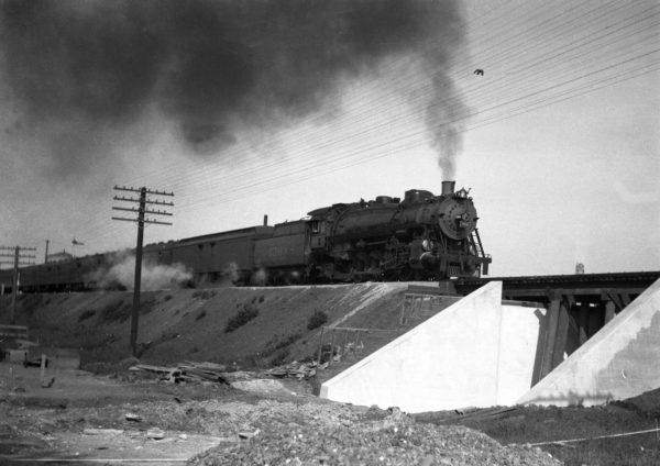 4-8-2 1508 Westbound at Cuba, Missouri in 1934