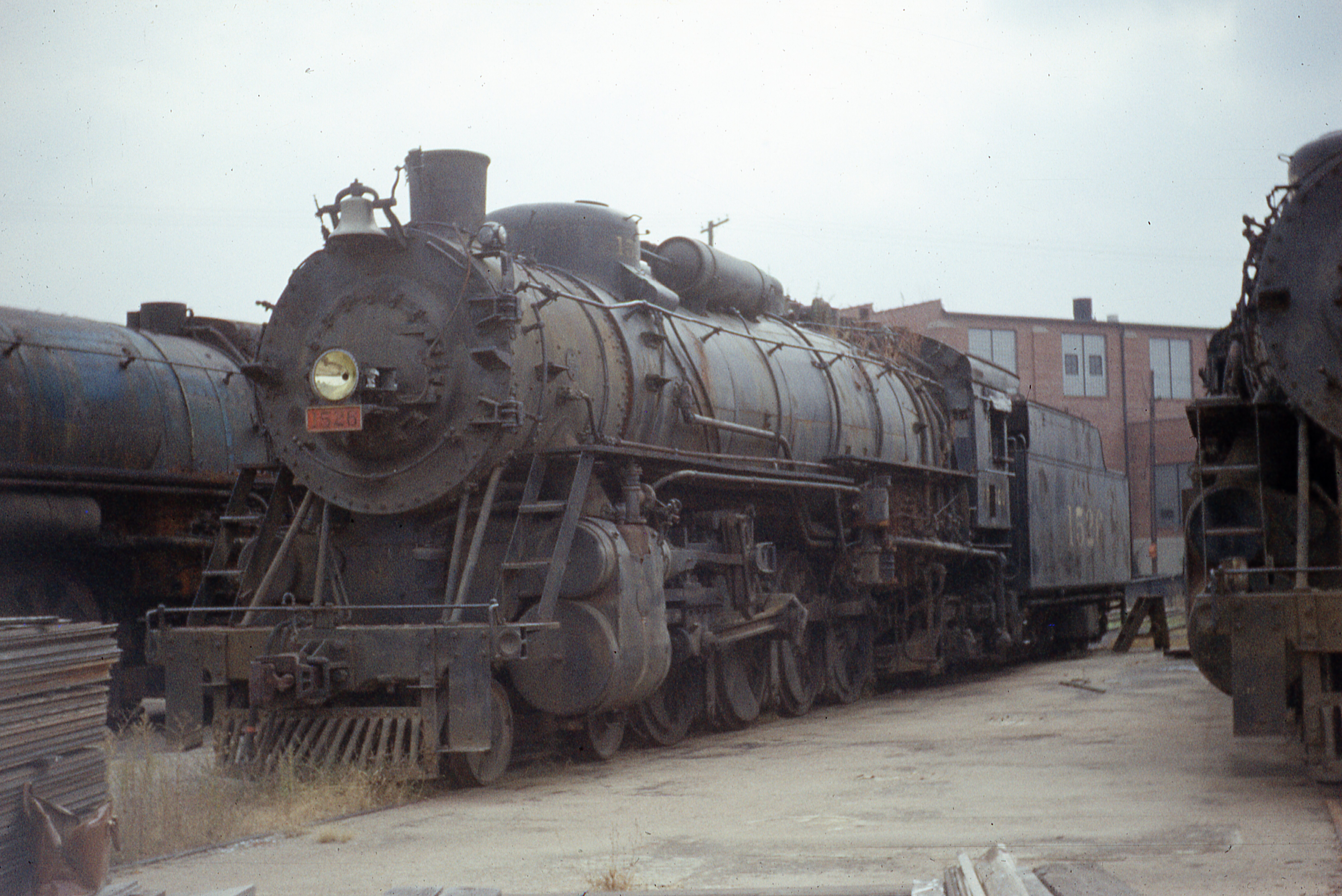 4-8-2 1526 at Lindenwood Yard, St. Louis, Missouri on November 2, 1958