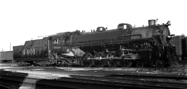 4-8-2 4401 at Lindenwood Yard, St. Louis, Missouri on October 2, 1940