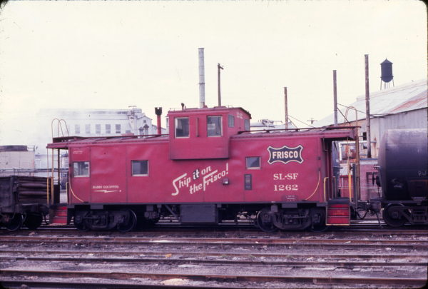 Caboose 1262 (date and location unknown)