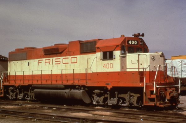 GP38-2 400 at Kansas City, Missouri in 1974 (C.R. Scholes)