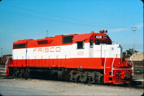 GP38-2 428 (location unknown) in August 1975