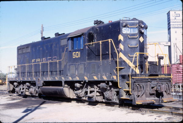GP7 501 at Enid, Oklahoma on October 20, 1968