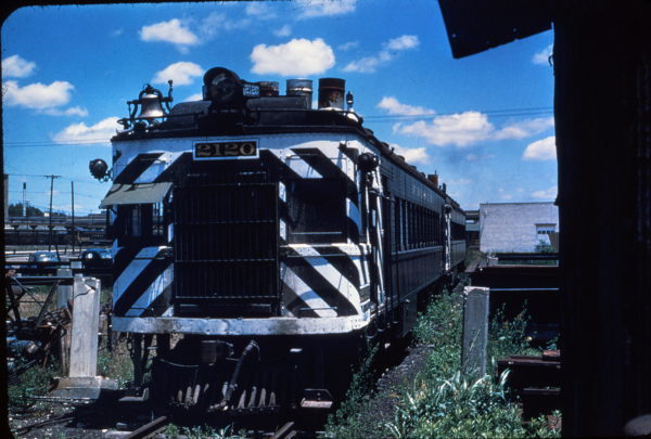 Motorcar 2120 at Springfield, Mo, Spring 1954 (M. Morrow from C. Dishinger Collection)