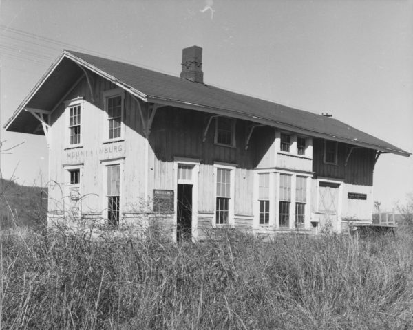 Mountainburg, Arkansas Depot (date unknown)