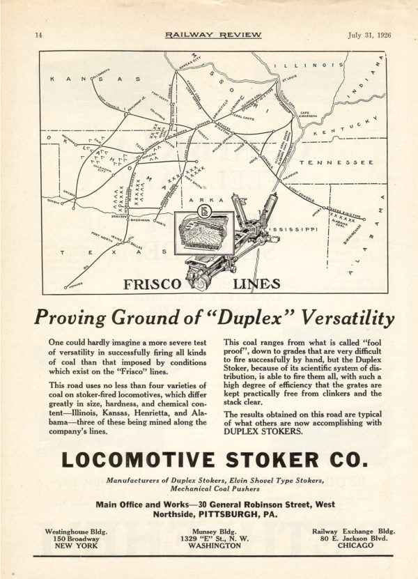 Locomotive Stoker Company