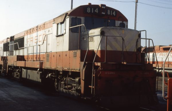 U25B 814 at Memphis, Tennessee on September 1, 1980 (P.B. Wendt)