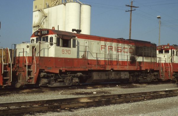 U25B 830 at Memphis, Tennessee on September 1, 1980 (Pat Wendt)