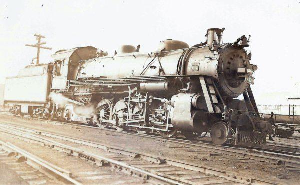 2-8-2 4005 at Maplewood, Missouri (date unknown)