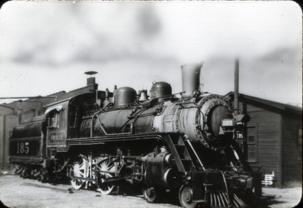 4-4-0 185 (date and location unknown)