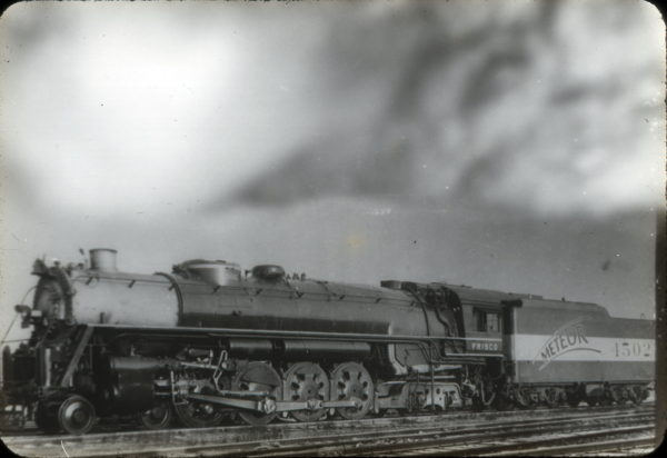 4-8-4 4502 (date and location unknown)