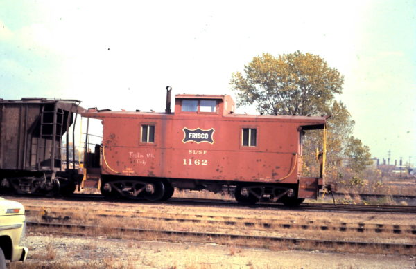 Caboose 1162 (date and location unknown)