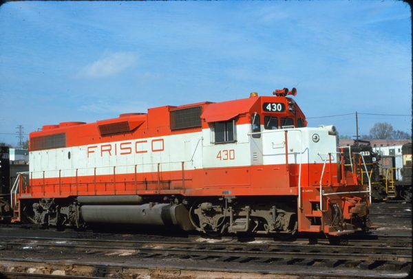 GP38-2 430 at Atlanta, Georgia on March 29, 1975 (Bill Folsom)