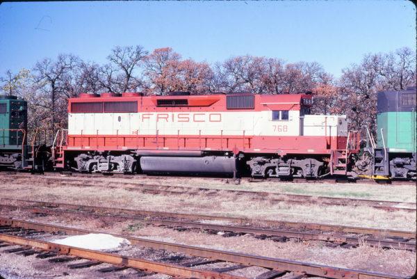 GP40-2 768 at Irving, Texas on December 11, 1980 (Gene Gant)