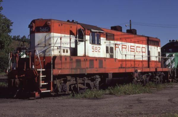 GP7 582 at Omaha, Nebraska on September 2, 1979 (Dennis Pehoski)