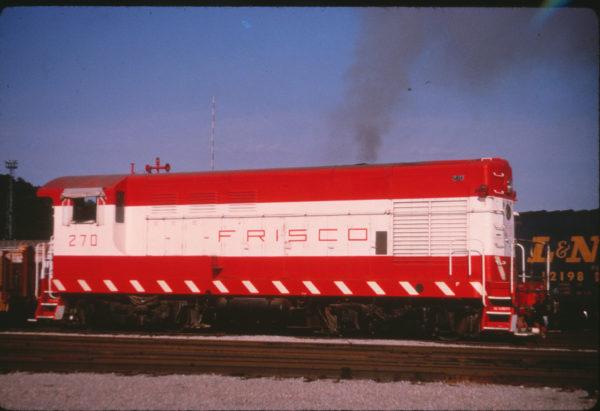 H-10-44 270 at Tulsa, Oklahoma in July 1970 (Al Chione)