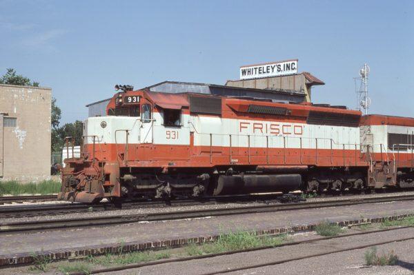 SD45 931 at Topeka, Kansas in August 1979 (Dan Warren)
