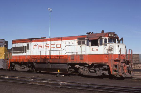 U30B 836 at North Platte, Nebraska on October 1, 1978 (Joe Quinn)