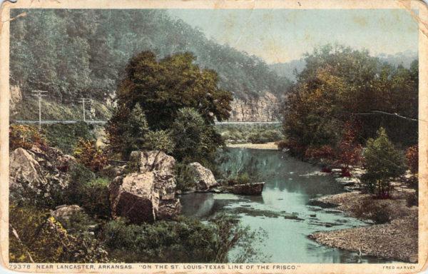 Fred Harvey Postcard - Lancaster, Arkansas