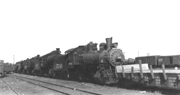 0-6-0s 3540 and 3671 (date and location unknown)