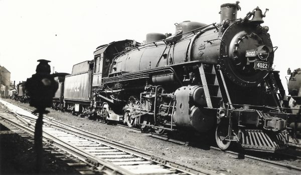 2-8-2 4022 (date and location unknown)