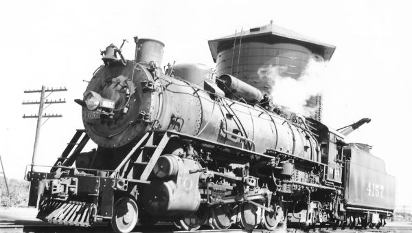 2-8-2 4157 at Tulsa, Oklahoma on June 10, 1950 (Arthur B. Johnson)