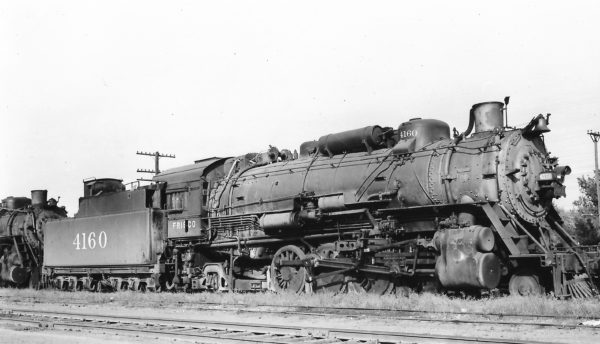 2-8-2 4161 at Tulsa, Oklahoma on September 24, 1948 (Arthur B. Johnson)