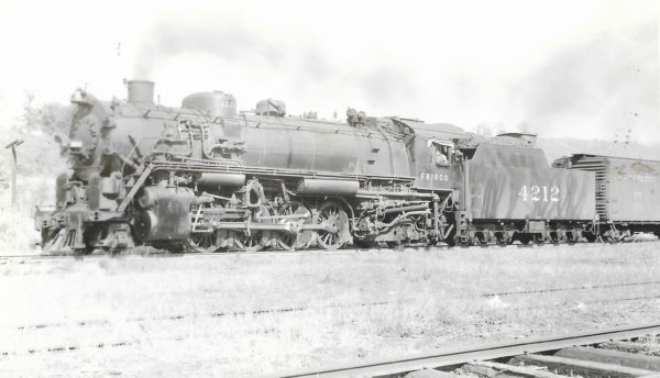 2-8-2 4212 at Kansas City, Missouri on February 28, 1940 (Ralph L. Graves)