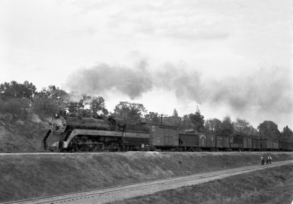 4-8-2 1503 Extra, Westbound at Kirkwood, Missouri in 1942 (William K. Barham)