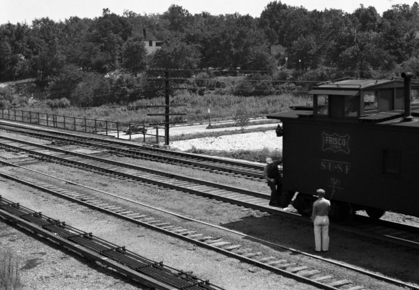 Caboose 59 at Southeastern Junction, St. Louis, Missouri in 1941
