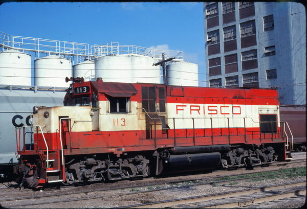 GP15-1 113 at Fort Worth, Texas on May 10, 1978 (Bill Phillips)