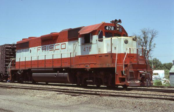 GP38-2 478 at Carthage, Missouri in June 1978 (David Cash)