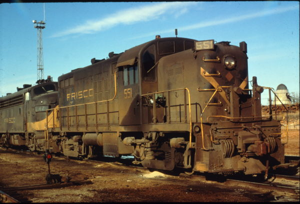 RS2m 551 at Springfield West yard (date unknown)