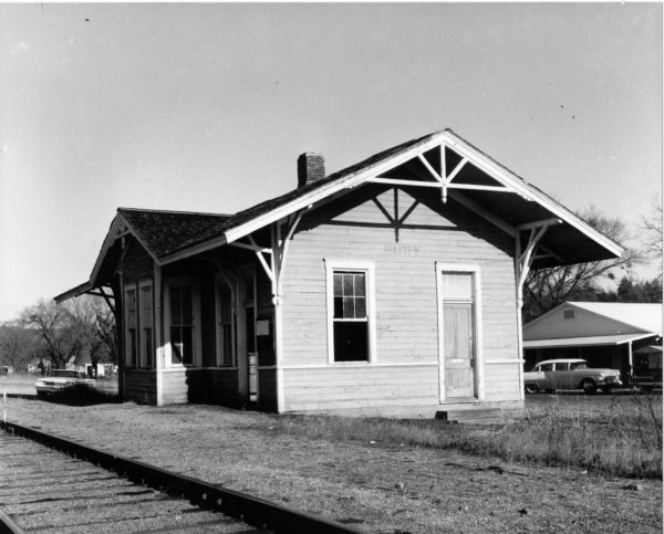Rudy, Arkansas Depot (date unknown)