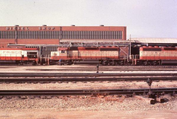 SD40-2 951 at Springfield, Missouri in 1979