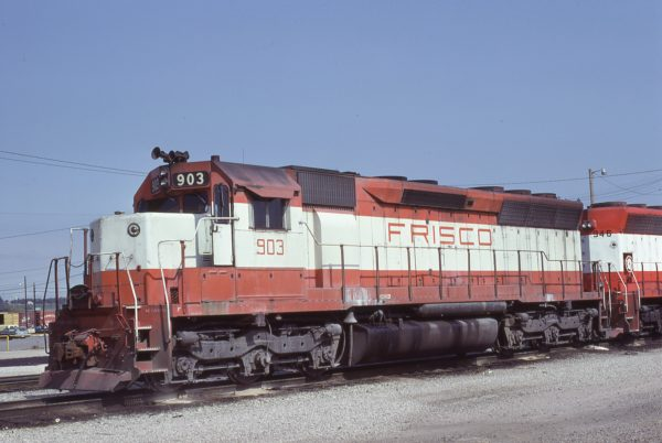 SD45 903 at Birmingham, Alabama on October 13, 1979 (Lon Coone)