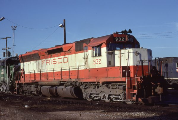 SD45 932 (location unknown) in January 1981