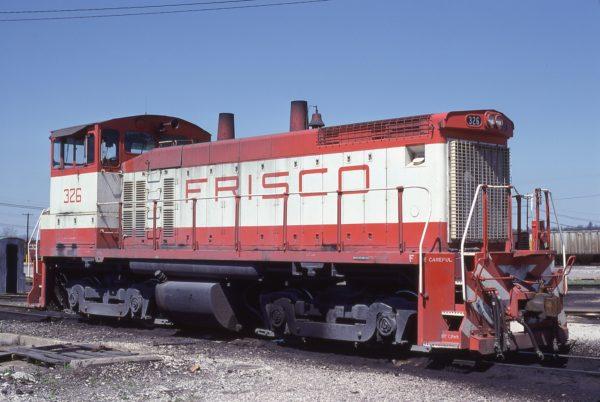 SW1500 326 at Birmingham, Alabama in April 5, 1980 (Lon Coone)