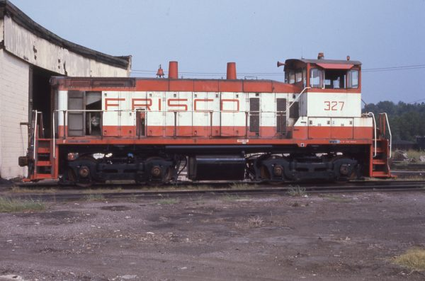 SW1500 327 at Birmingham, Alabama on July 10, 1977